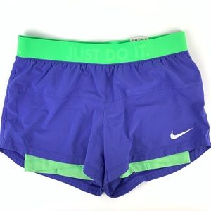 Nike women's running shorts size small purple